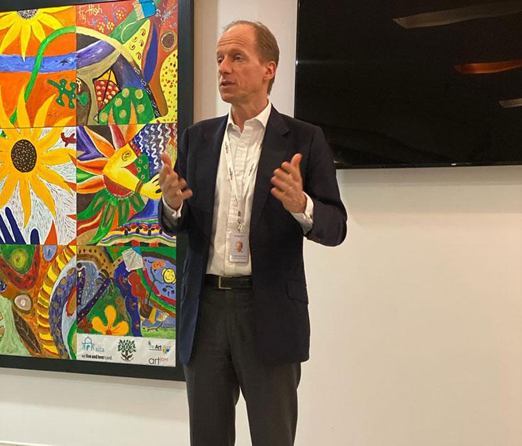 Dr Klaus-Ulrich Gerhard Sperl India visit