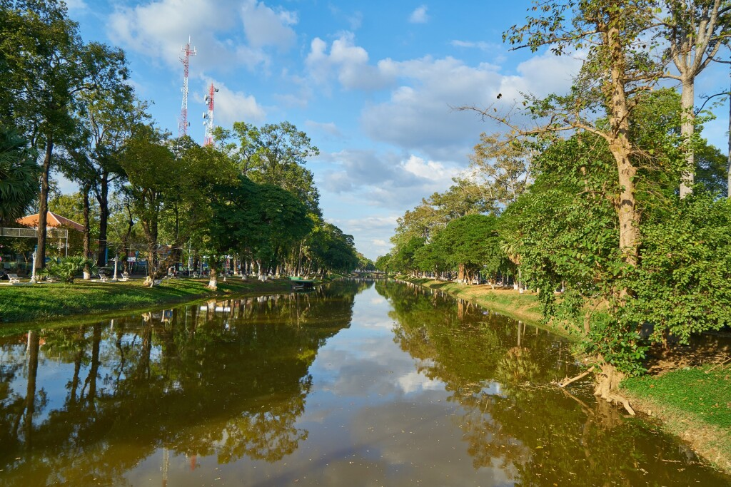Cambodia -Beautification of Siem Reap (credit Asian Trails)