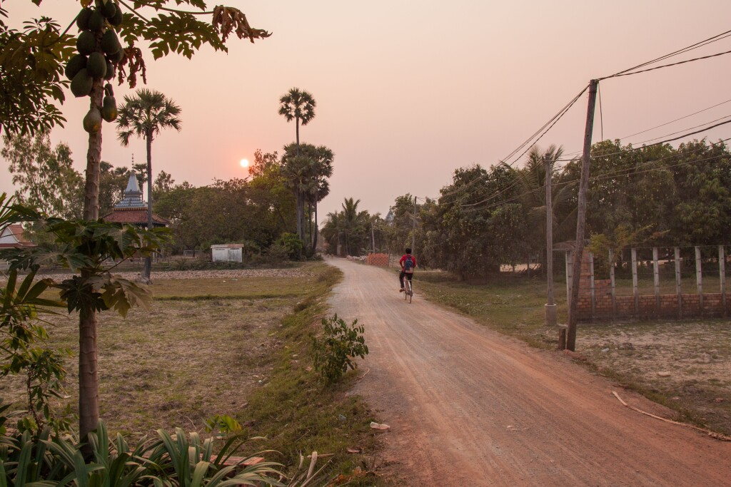 Cambodia - Epic cycle to Phnom Penh (credit Asian Trails)