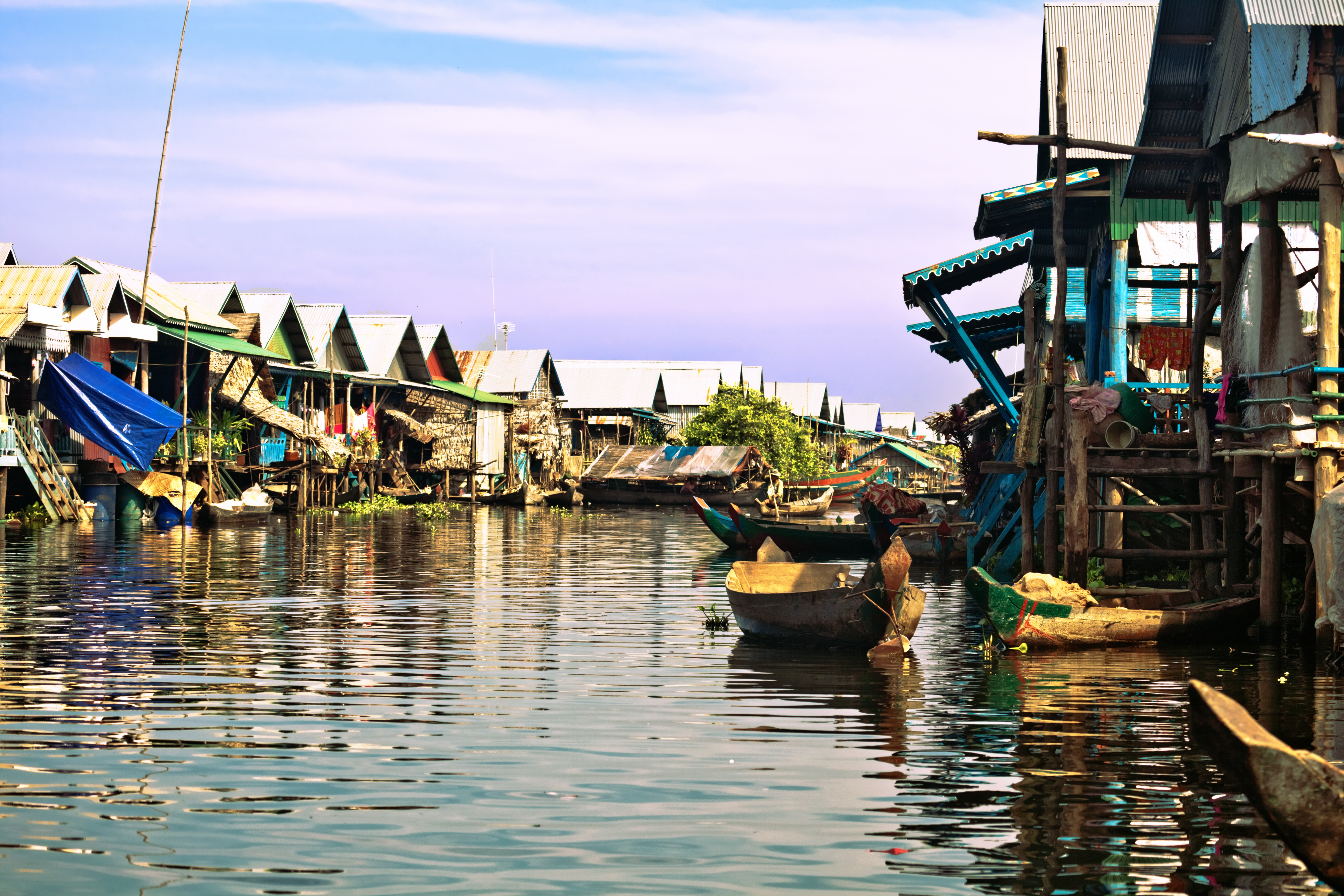 Cambodia - Immersion into floating Cambodia (credit Asian Trails)