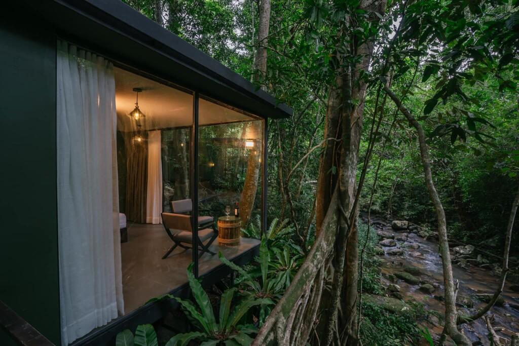 Laos - New jungle hideaway in Laos (credit Nam Pien Yorla Pa Resort )